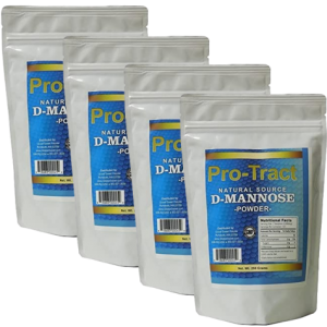 Pro-Tract D-Mannose Powder 1 Kilogram (4 x 250 GM bags)