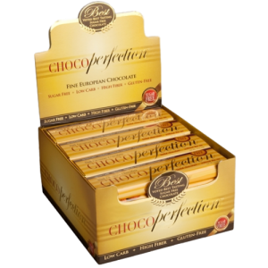 ChocoPerfection® Sugar-Free Chocolate – Box of 24 Bars