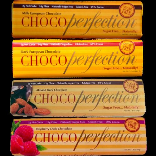 Chocoperfection 4 Chocolate Bars