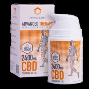 Advanced Therapy – Double Strength CBD Cream