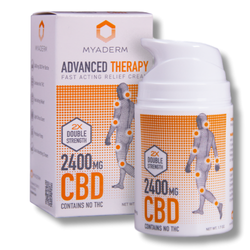Myaderm Advanced Therapy Double Strength CBD
