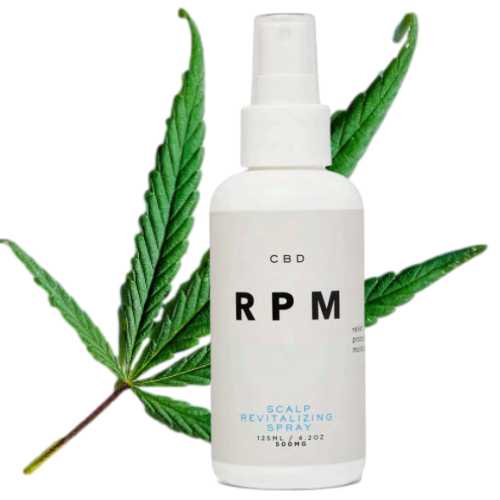 RPM CBD Scalp Revitalizing Spray
