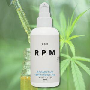 RPM CBD Reparative Treatment Oil
